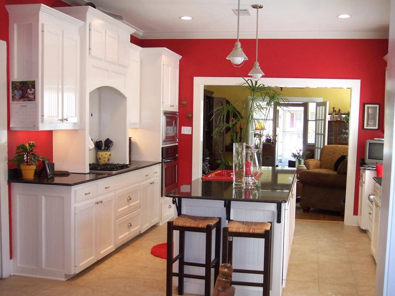 10 Pretty Kitchen Paint Ideas With White Cabinets best color for kitchen walls with white cabinets kitchen and decor 2020