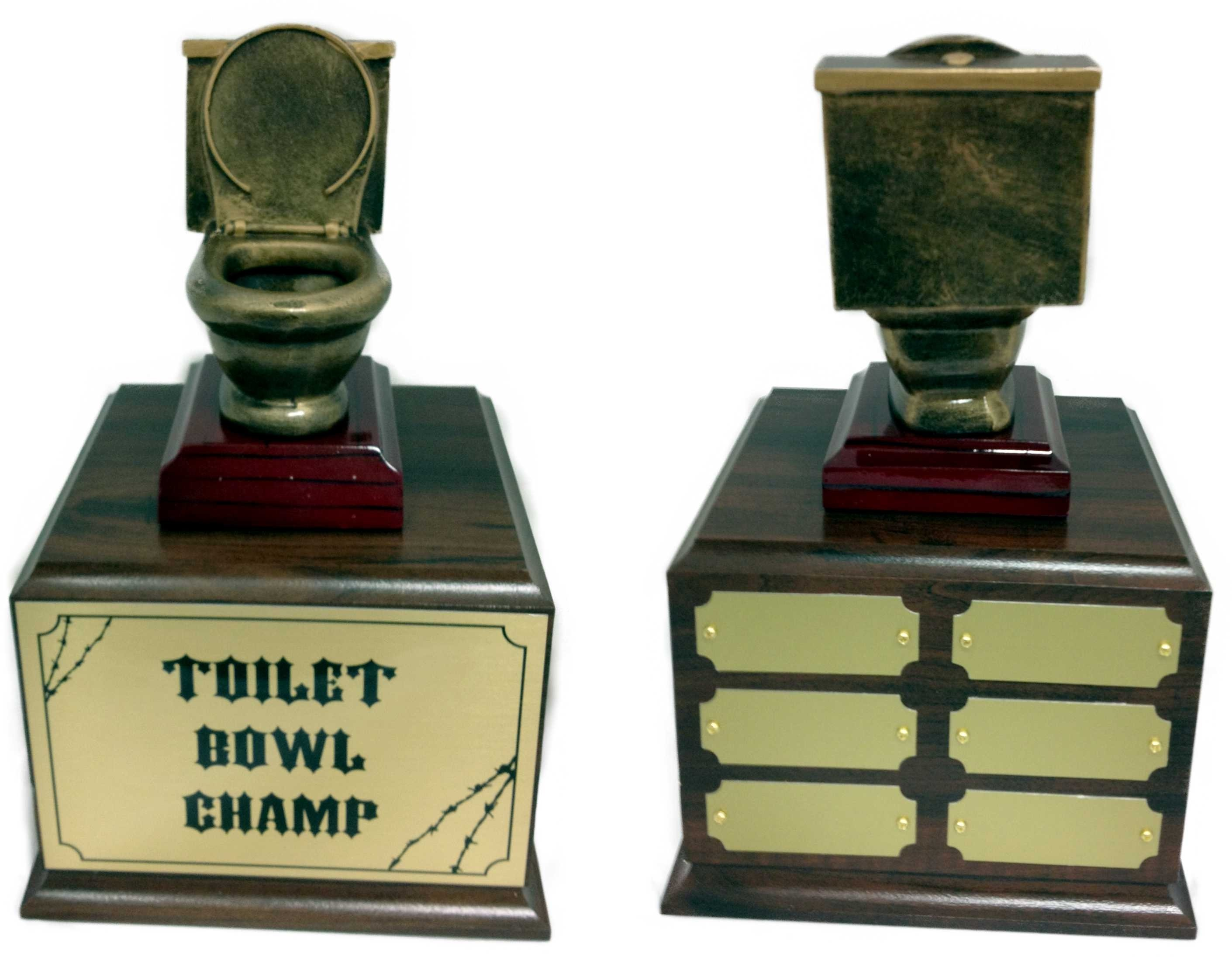 10 Most Popular Last Place Fantasy Football Ideas best cool toilet bowl trophies 9 11480 2020
