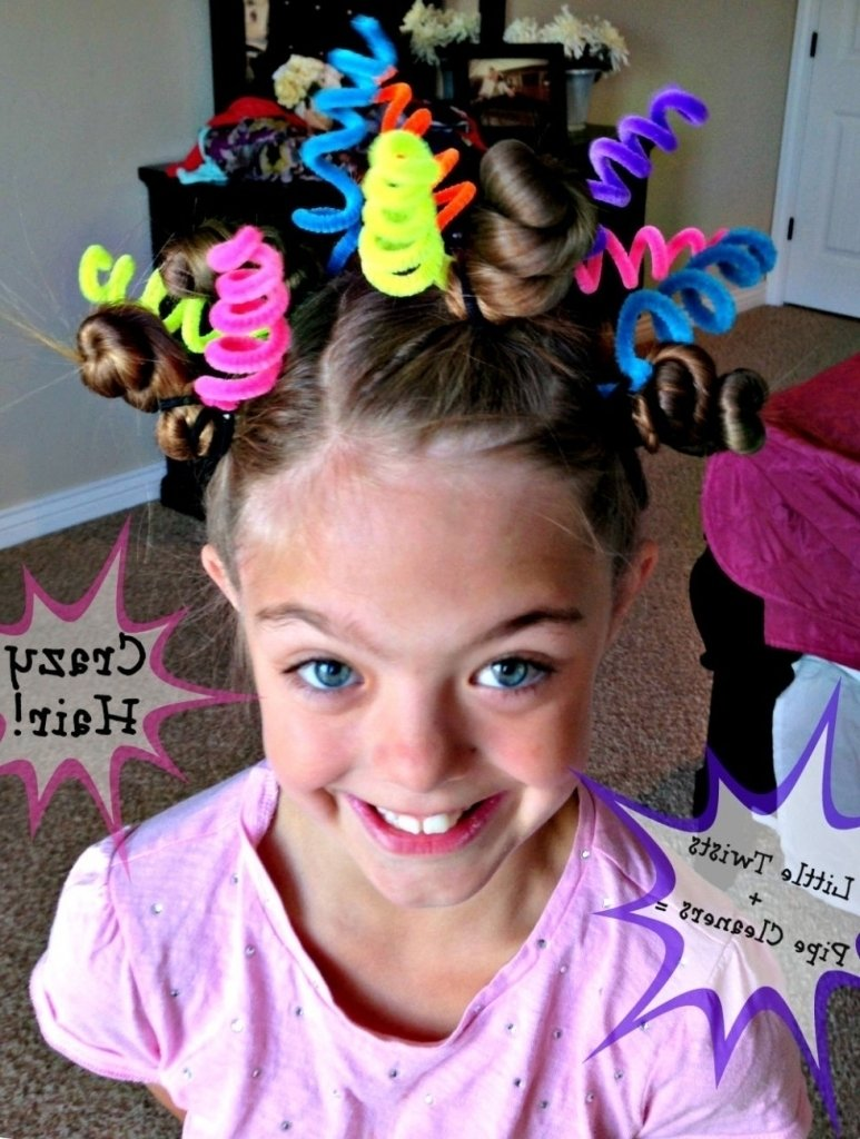 10 Fantastic Crazy Hair Ideas For Girls best crazy hair day ideas 30 ideas for crazy hair day at school for 2020