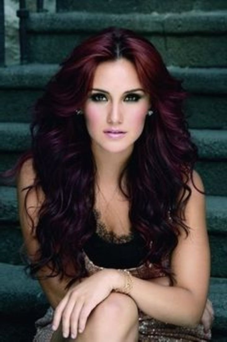10 Spectacular Cute Dark Hair Color Ideas best cute dark red hair ideas hairstyles trend globezhair for auburn 2020