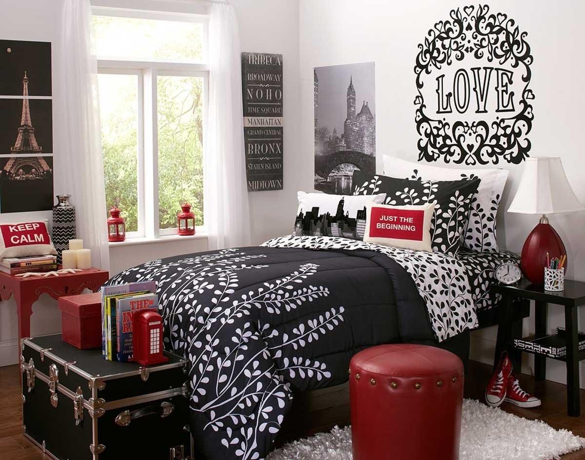 10 Trendy Red And Black Room Ideas best design red black bedroom interior decobizz 2021