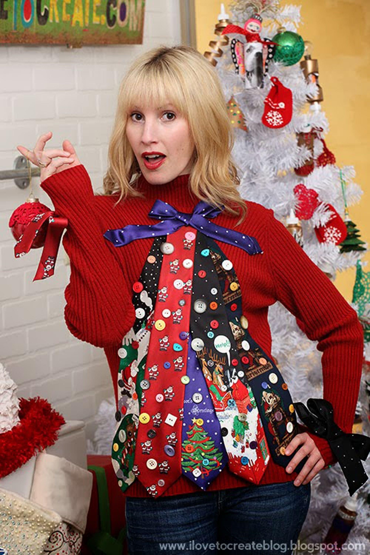 10 Fantastic Do It Yourself Ugly Christmas Sweater Ideas best diy ugly christmas sweater ideas ugly christmas sweater diys 2020