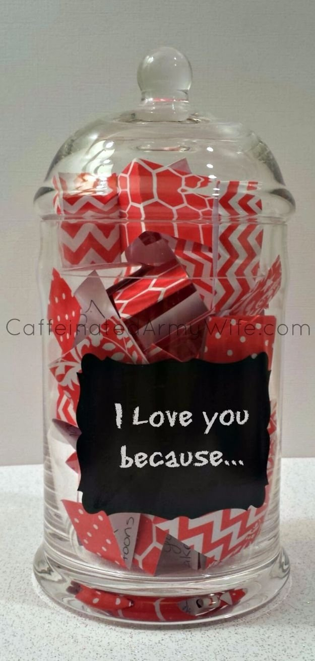 10 Ideal Valentines Day Ideas For Her best diy valentines day gifts love notes jar for valentines day 2020