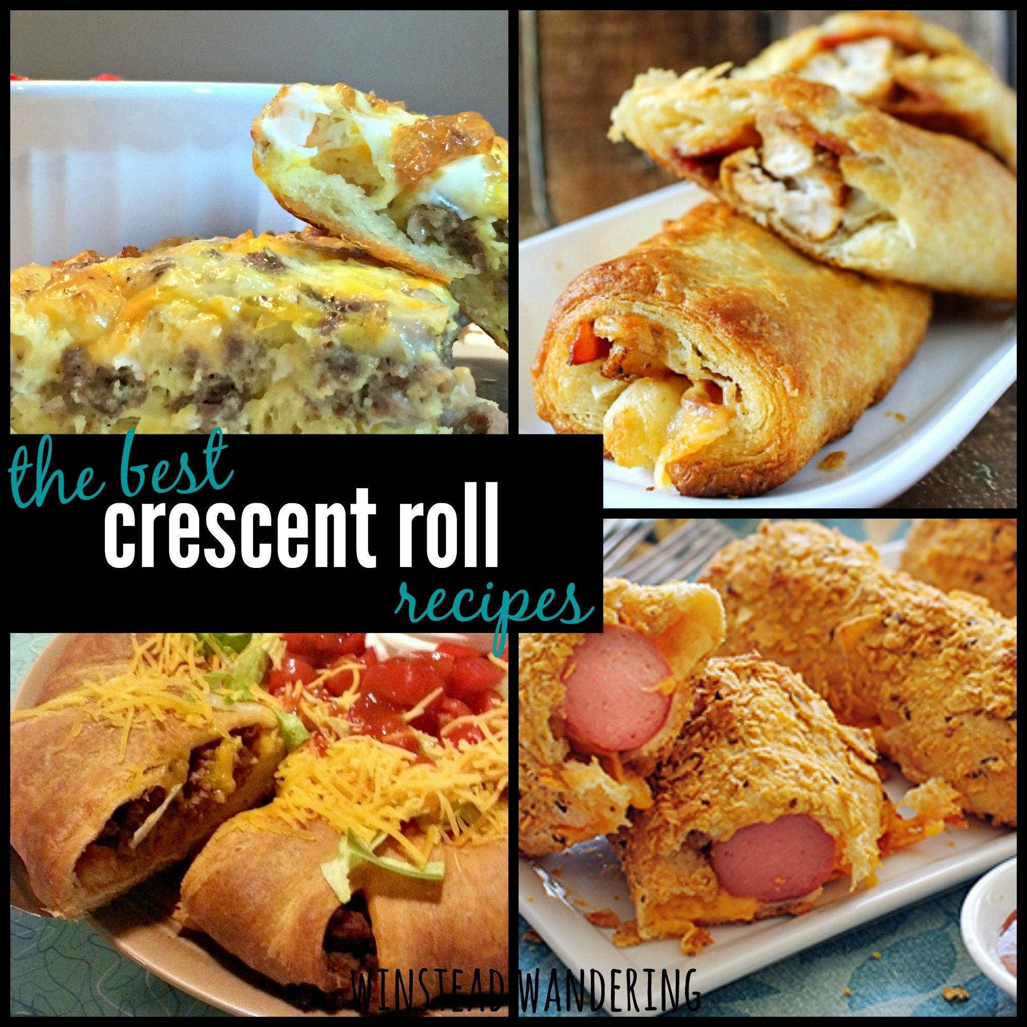 best easy delicious crescent roll recipes