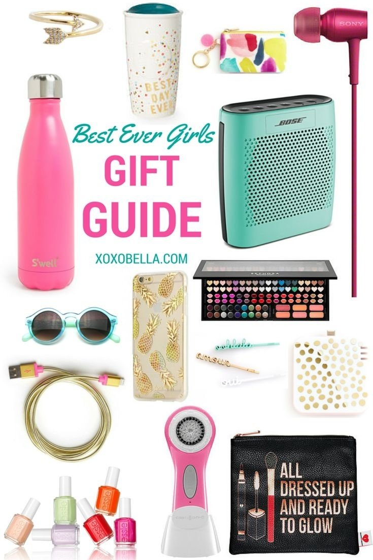 10 Famous Birthday Gift Ideas For Teenage Girls Best Ever Holiday Guide