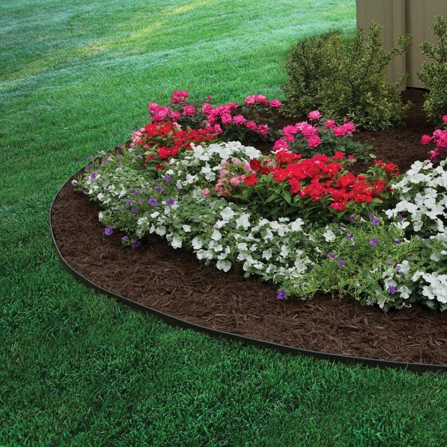 10 Stylish Edging Ideas For Flower Beds best flower bed edging ideas for your home cheap landscape loversiq