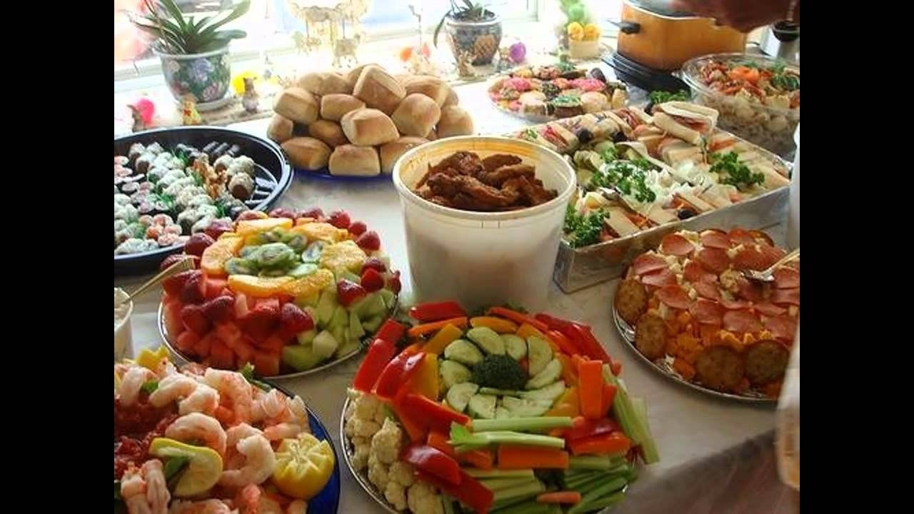 10 Fashionable Food Ideas For Birthday Party best food ideas for kids birthday party youtube 18 2021