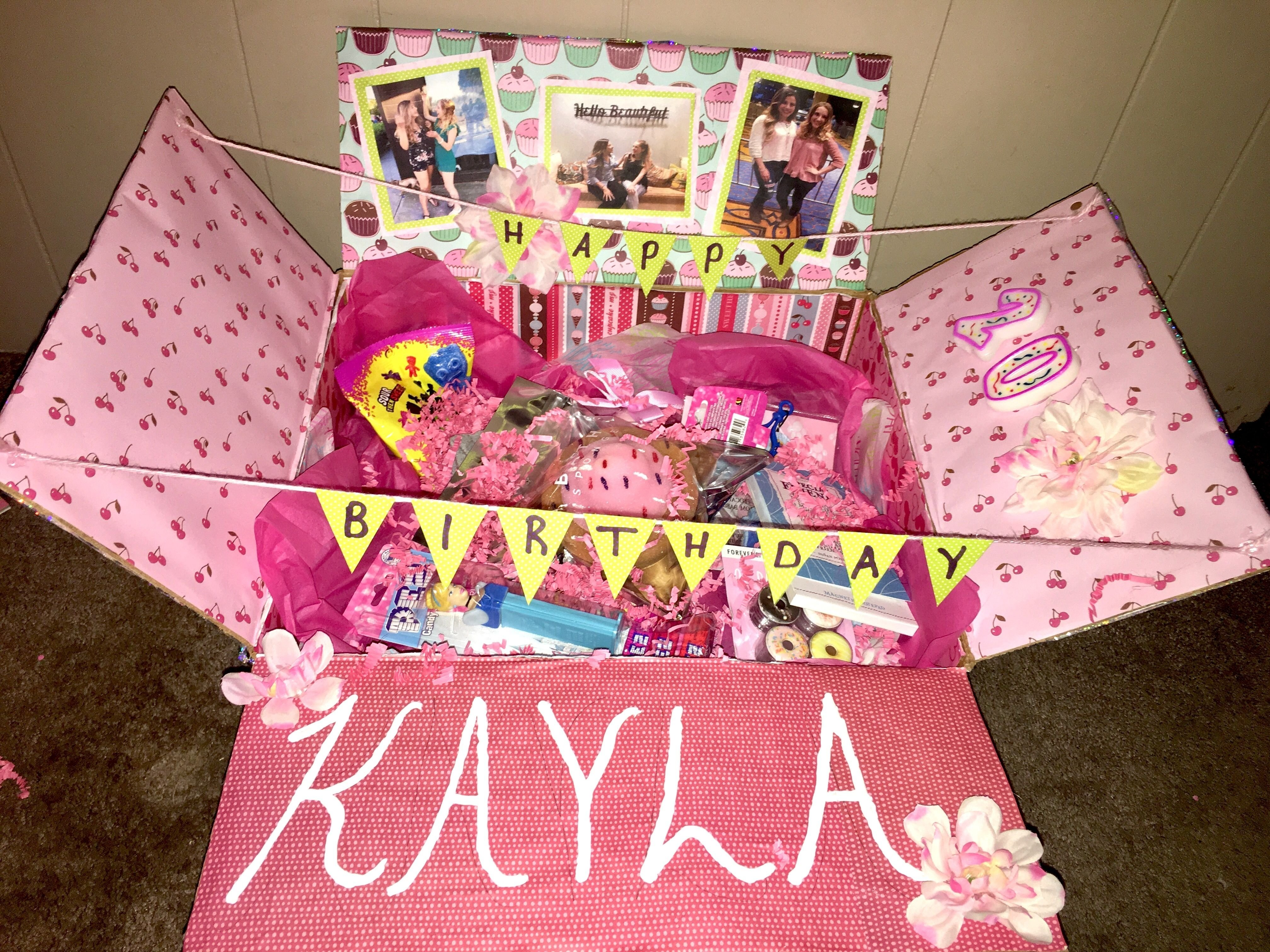 10 Great Birthday Gift Ideas For A Friend Best Care Package Pop Up Box