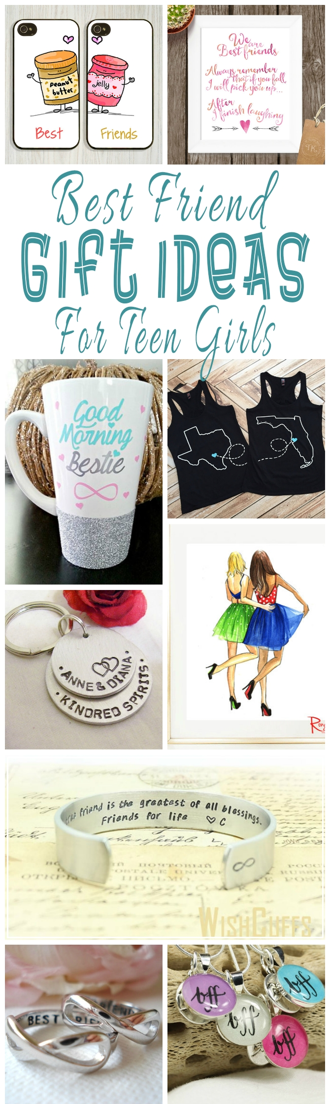 10 Spectacular Birthday Present Ideas For Teenage Girls best friend gift ideas for teens teen unique and craft 2 2021