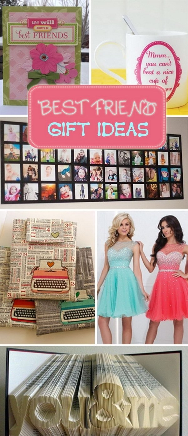 best friend gift ideas - hative