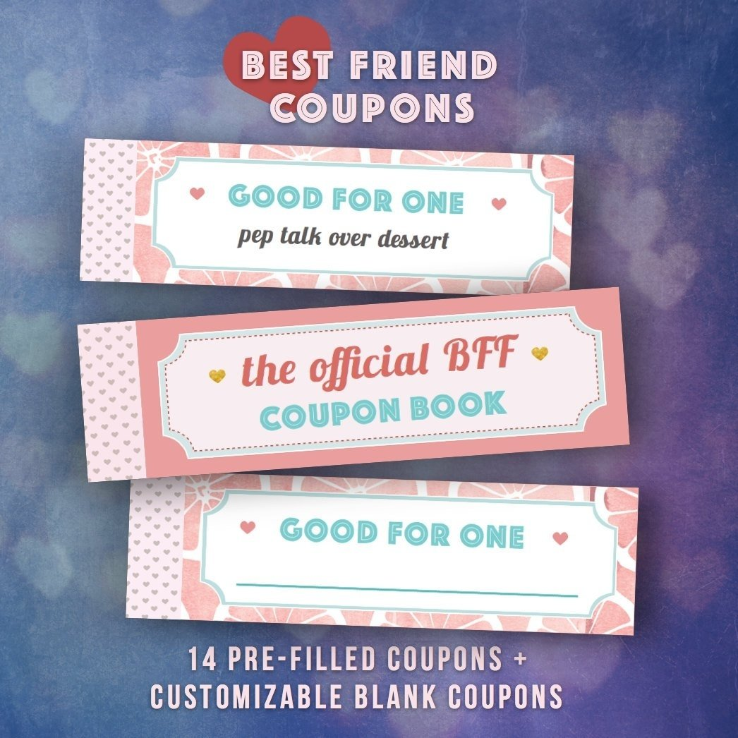 10 Nice Birthday Present Ideas For Best Friend best friends gifts diy coupon book single girl friend bff 2020