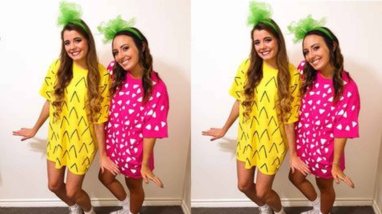 10 Spectacular Halloween Costume Ideas For Friends best friends halloween costume ideas 2 youtube