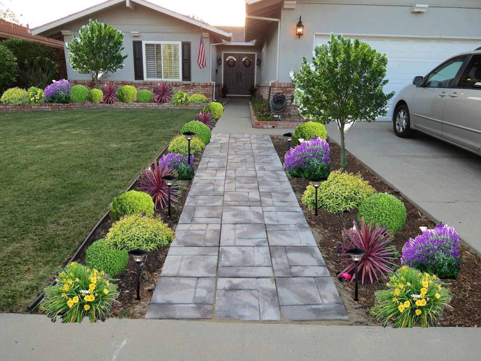 10 Spectacular Cheap Landscaping Ideas For Front Yard best front sidewalk landscaping ideas manitoba design 2020