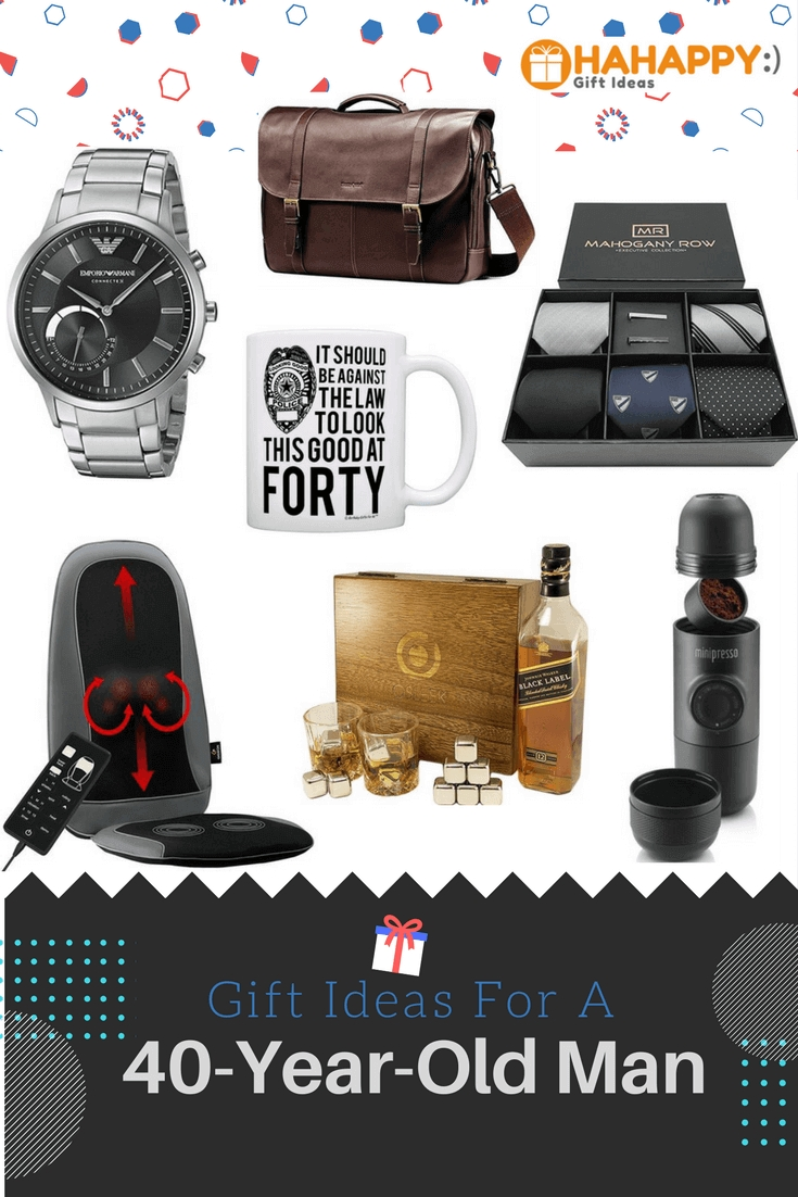 10 Amazing 40 Year Birthday Gift Ideas Best For A Old Man