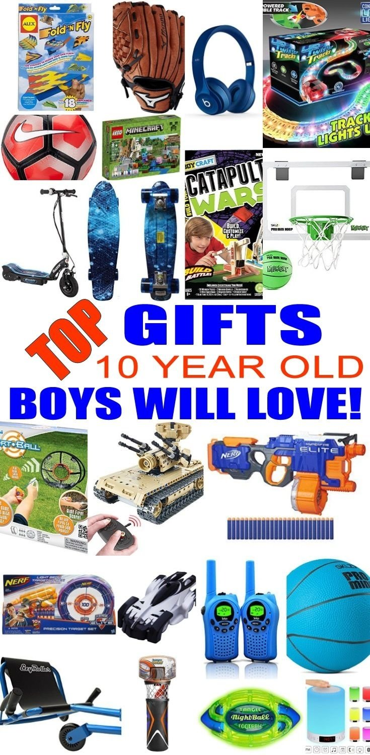 10 Great Christmas Gift Ideas For 10 Year Old Boys