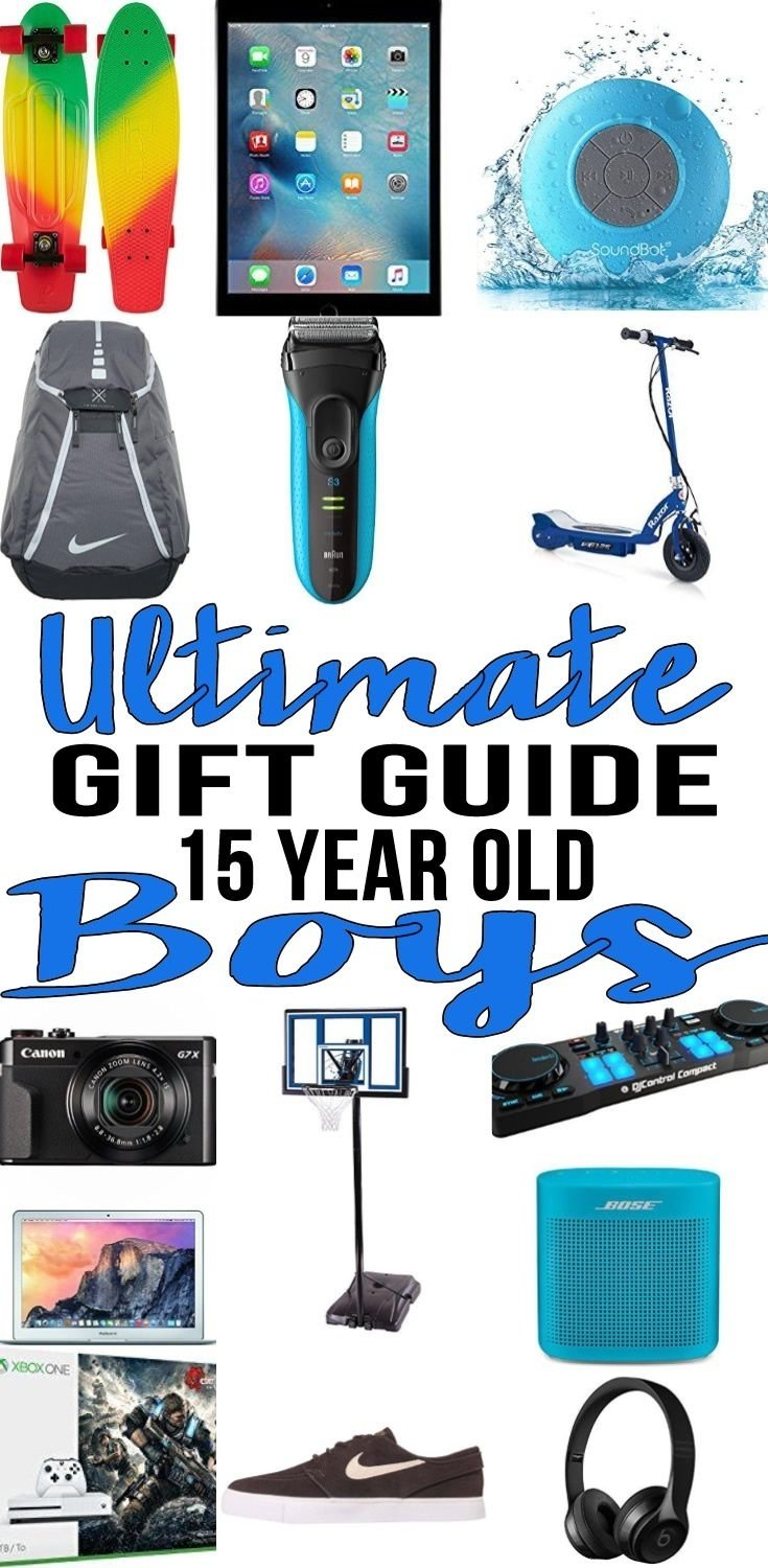 best gifts 15 year old boys actually want | gift suggestions, 15th