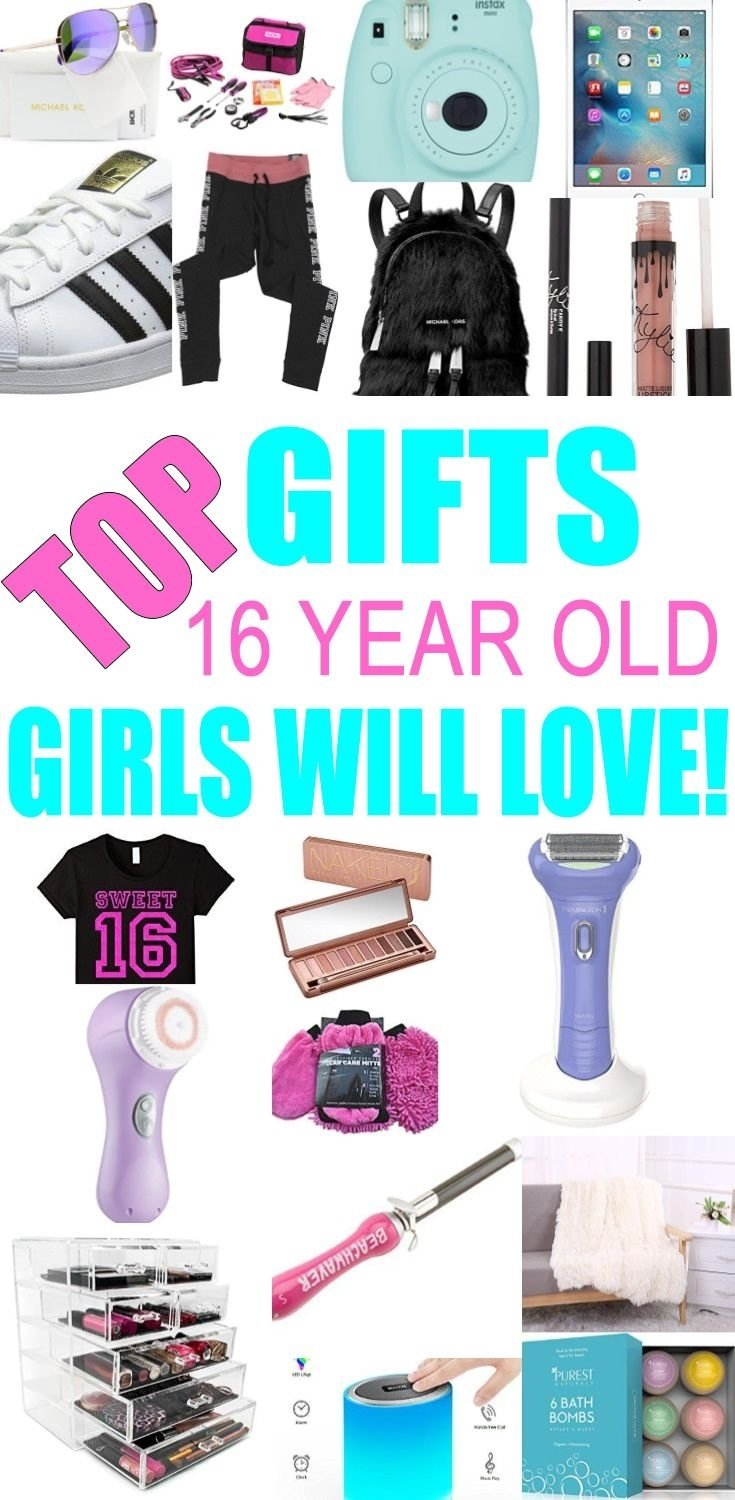 10 Most Recommended Gift Ideas For 16 Year Old Girls best gifts 16 year old girls will love gift suggestions sixteenth 2020