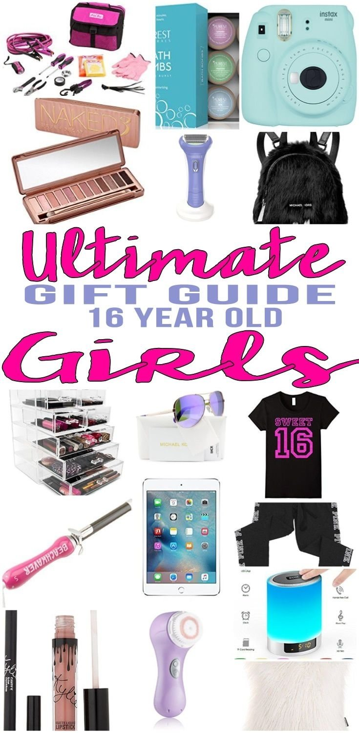 10 Nice Gift Ideas For A 16 Year Old Girl