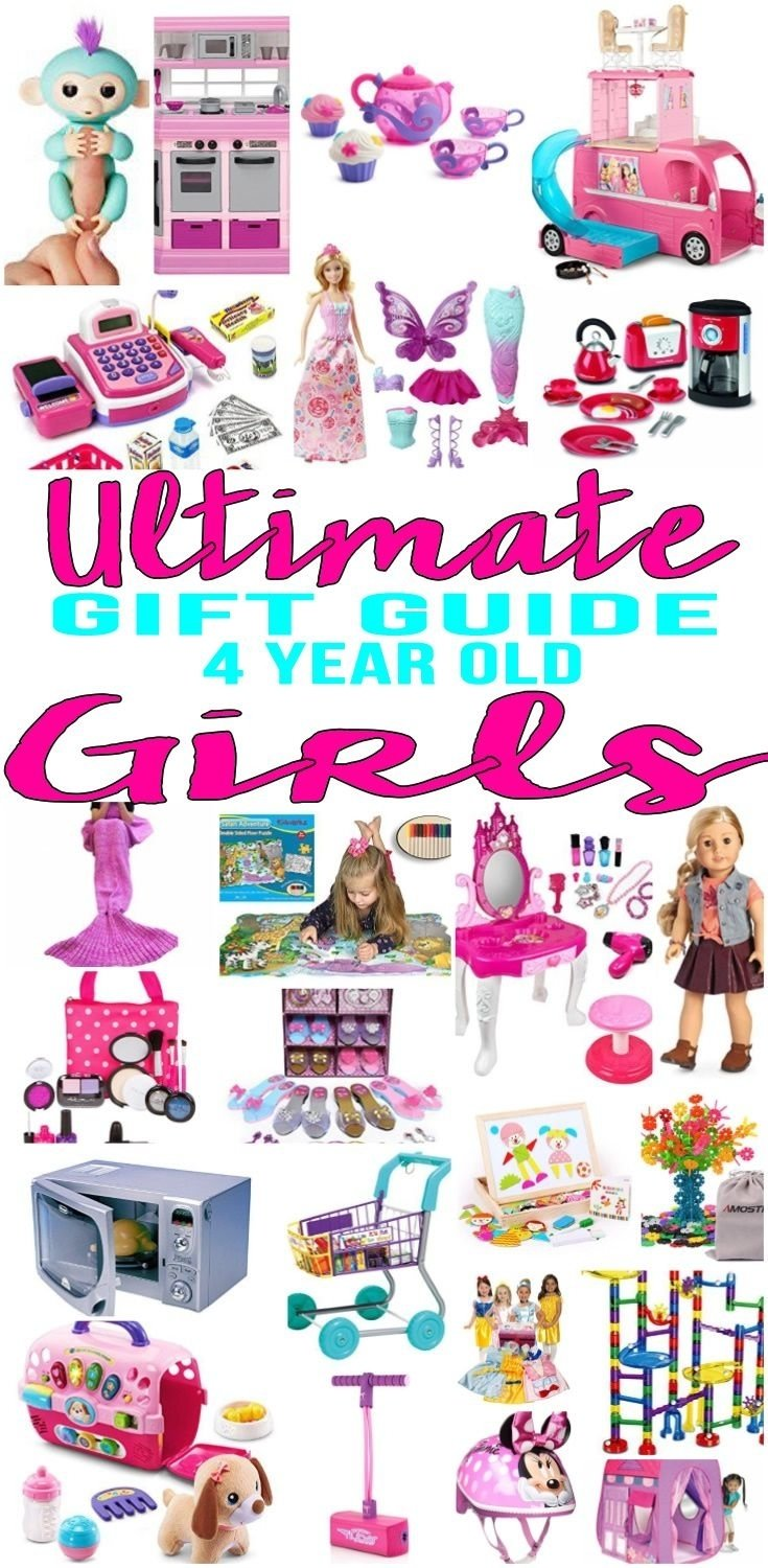 10 Lovable 4 Year Old Birthday Gift Ideas Best Gifts Girls Will Love