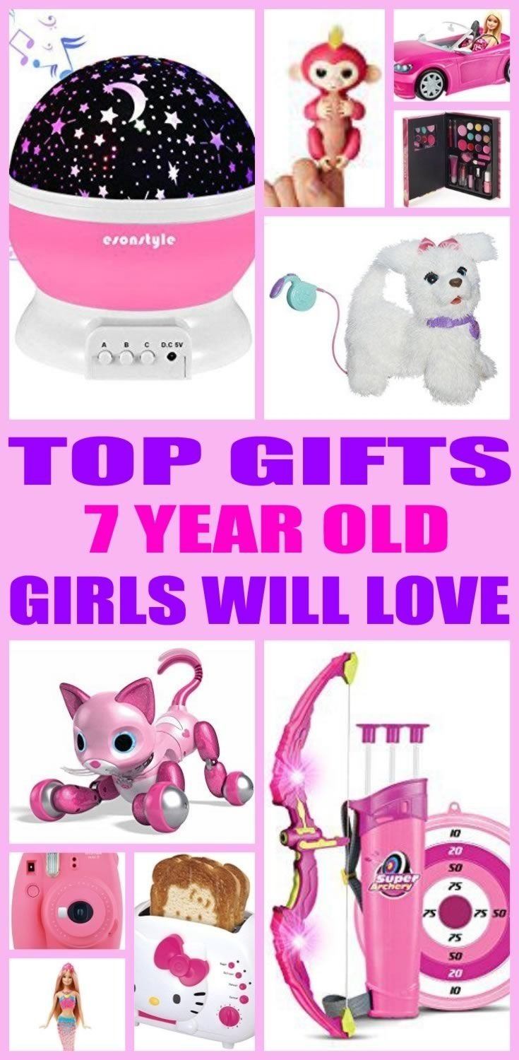 10 Cute Gift Ideas For 7 Year Old Girl Best Gifts Girls Will