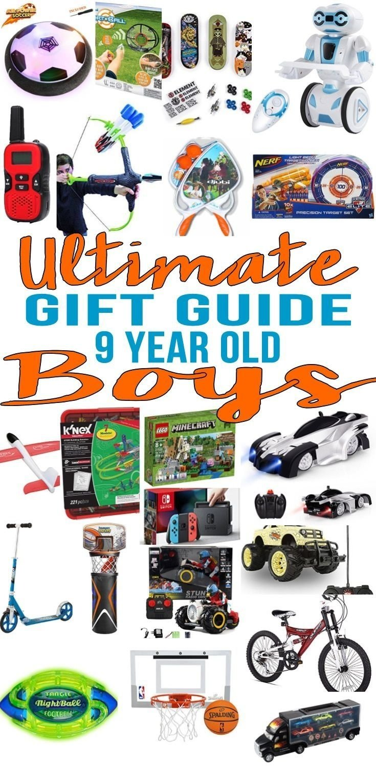 10 Unique 9 Year Old Boy Birthday Gift Ideas Best Gifts Boys Top