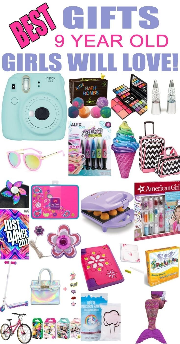 10 Ideal 9 Year Old Birthday Gift Ideas Best Gifts Girls Will Love