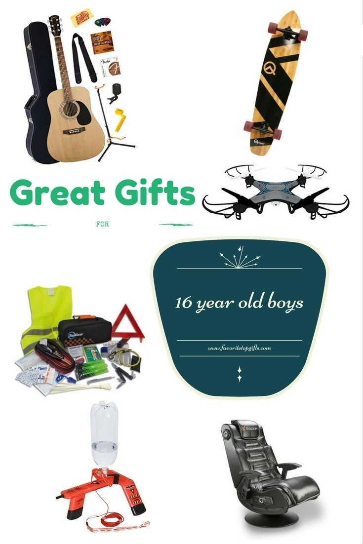 10 Nice Birthday Ideas For 16 Year Old Boy best gifts and toys for 16 year old boys gift and recipes 2021