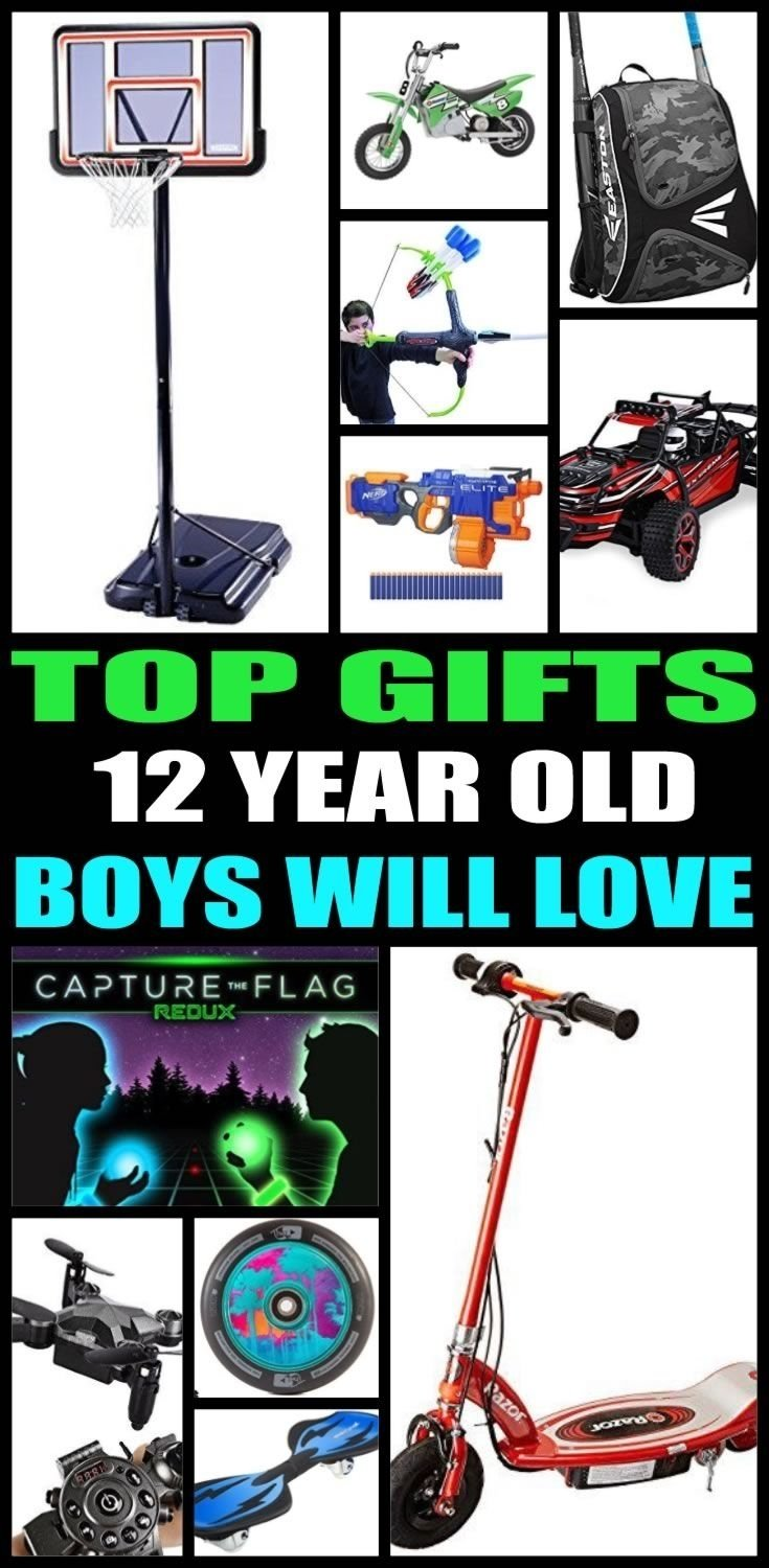 10 Attractive 12 Year Old Boy Christmas Gift Ideas