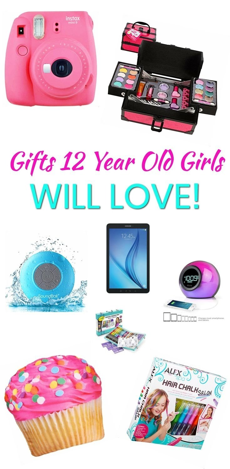 10 Great Gift Ideas For 12 Year Old Girls