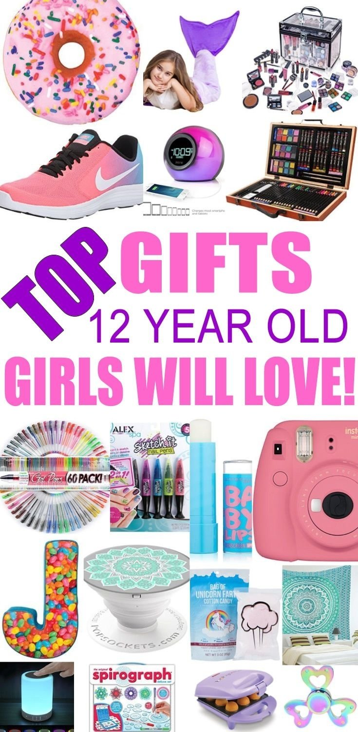 best gifts for 12 year old girls | gift suggestions, tween and teen