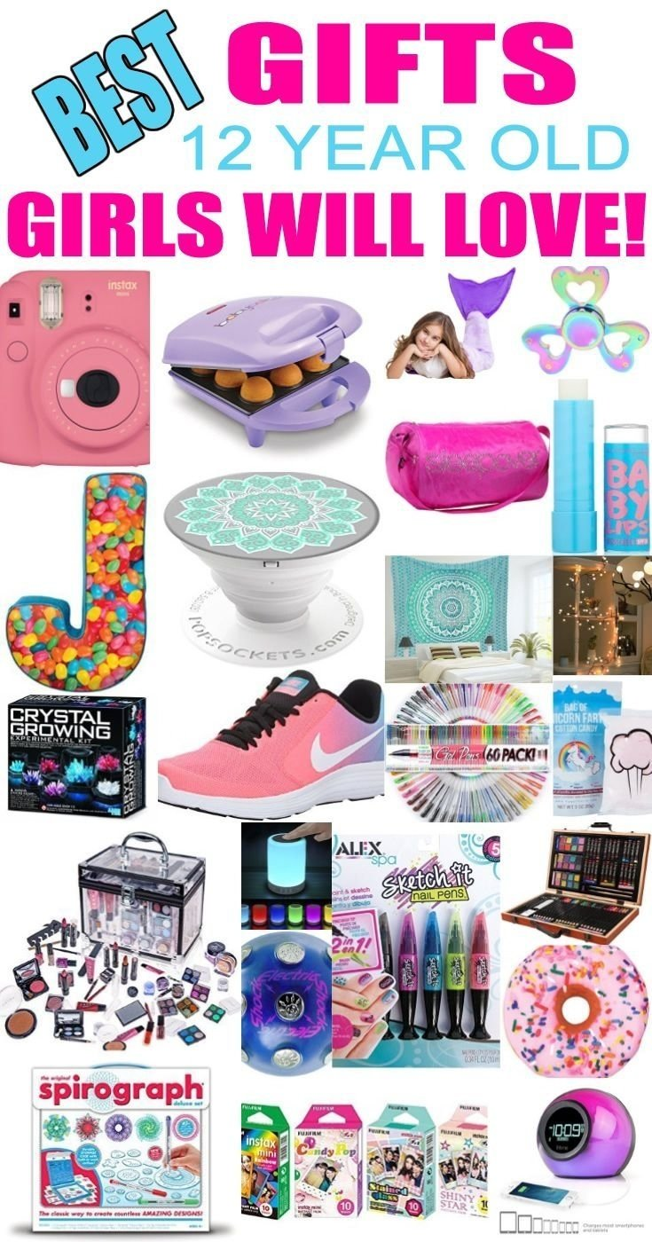 10 Great Gift Ideas For 12 Year Old Girls best gifts for 12 year old girls teen girl gifts girl gifts and tween 2021