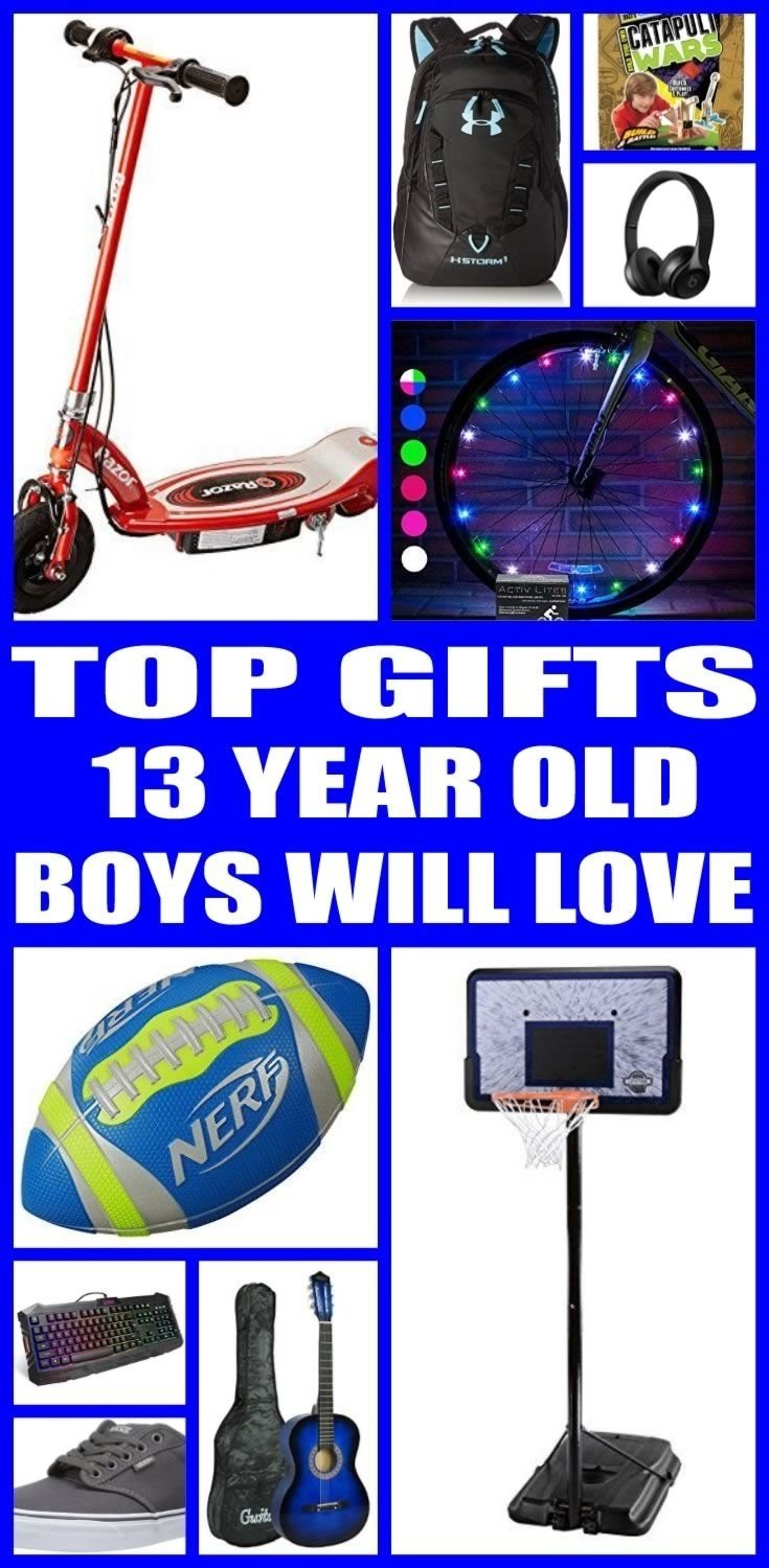 10 Ideal Gift Ideas For 13 Year Old Boys Best Gifts
