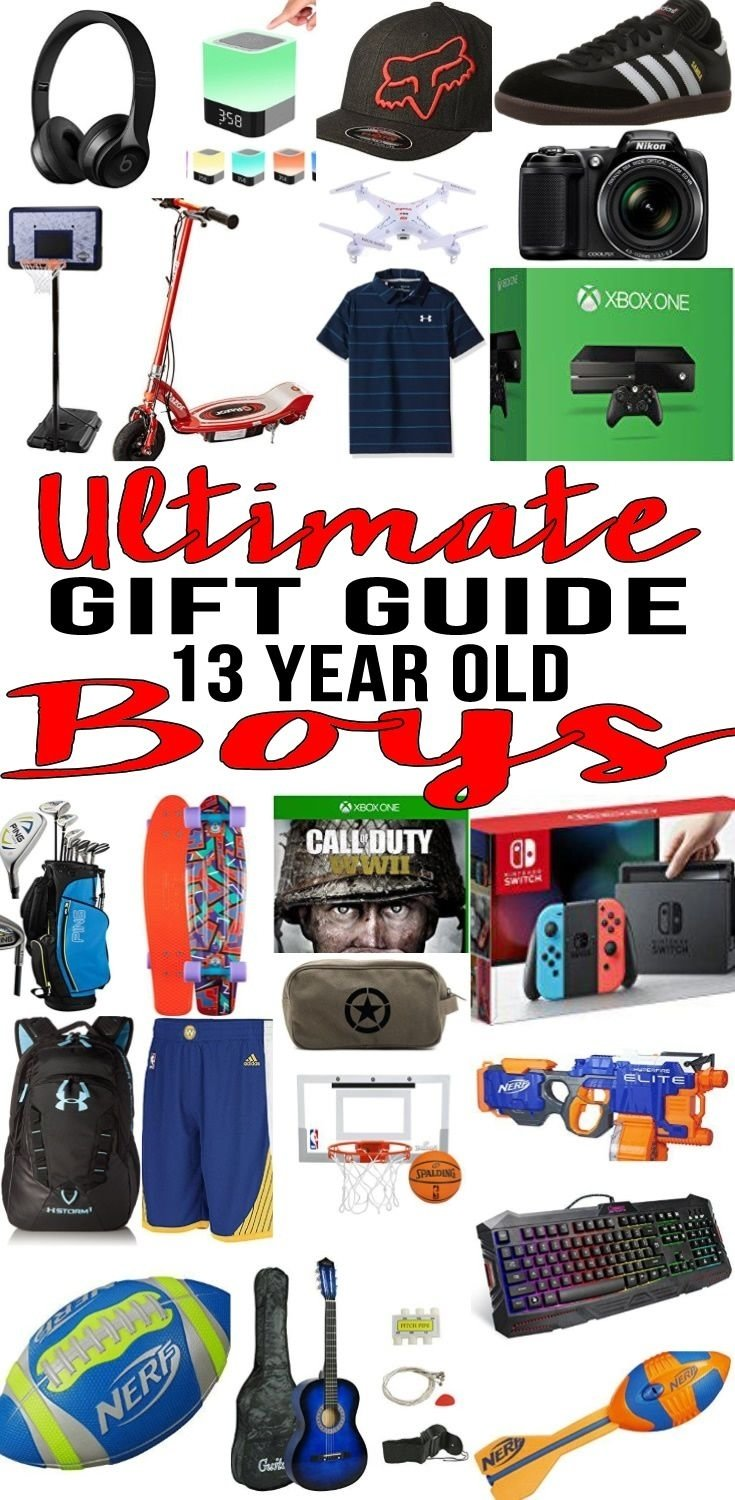 best gifts for 13 year old boys | gift suggestions, 13th birthday