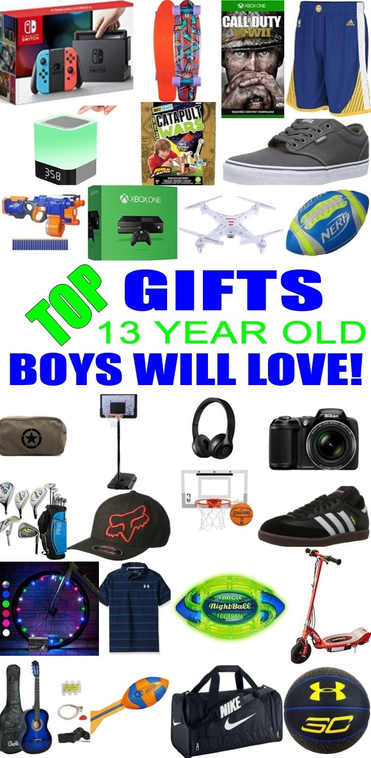 10 Amazing Birthday Gift Ideas For 13 Year Old Boy