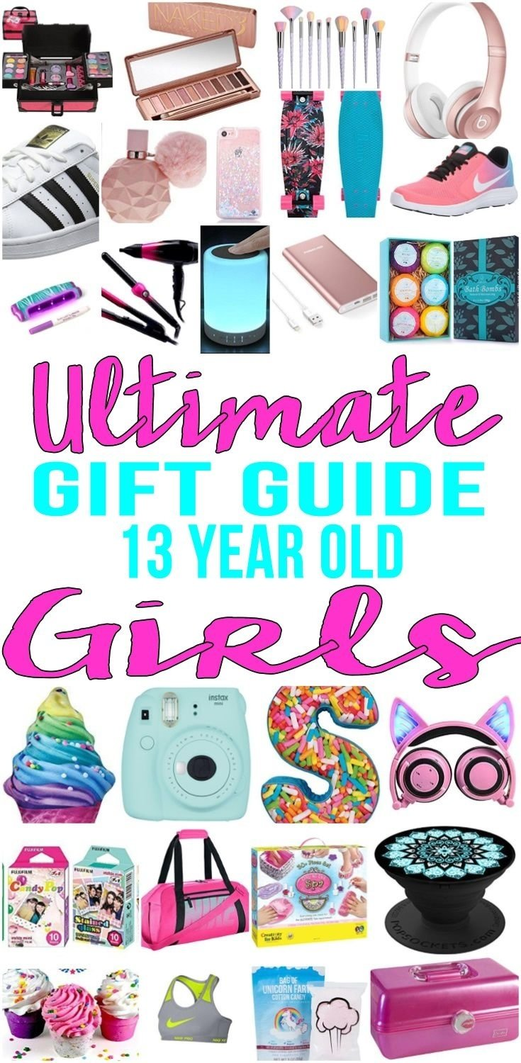 best gifts for 13 year old girls | gift suggestions, 13th birthday