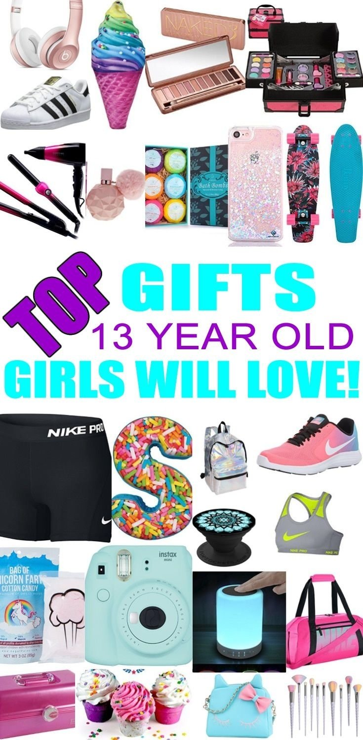10 Trendy 13 Year Old Christmas Ideas best gifts for 13 year old girls gift suggestions tween and teen 4 2021
