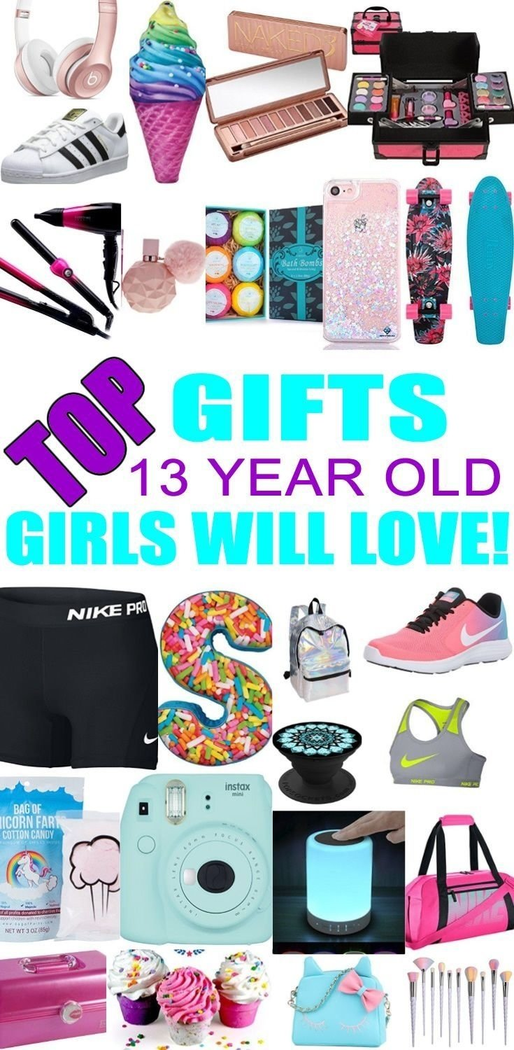 best gifts for 13 year old girls | gift suggestions, tween and teen