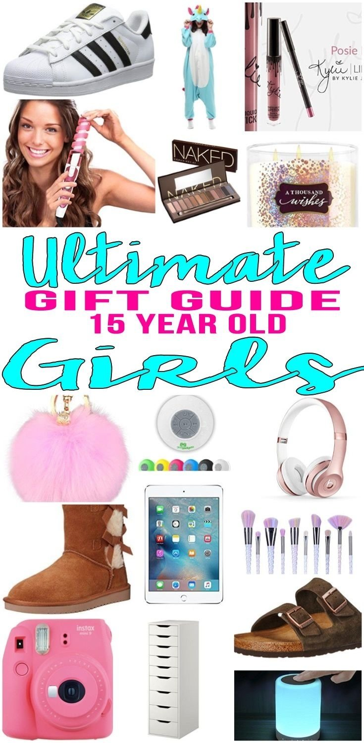 best gifts for 15 year old girls | gift suggestions, 15th birthday