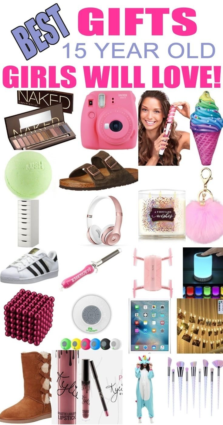 10 Stylish Gift Ideas For 15 Year Old Girls
