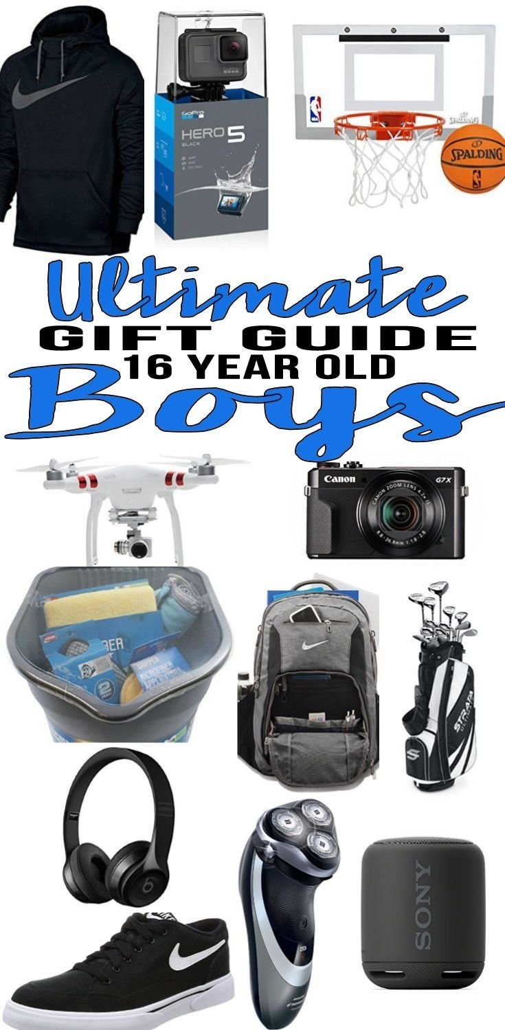 10 Ideal Gift Ideas For 16 Year Old Boys best gifts for 16 year old boys boy 16th birthday gift 3 2020