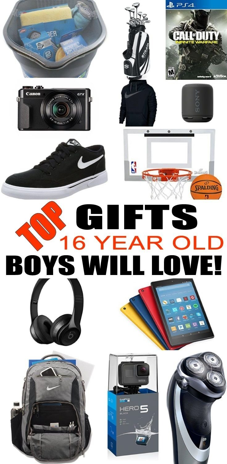 10 Elegant 16 Year Old Boy Birthday Gift Ideas Best Gifts For Boys