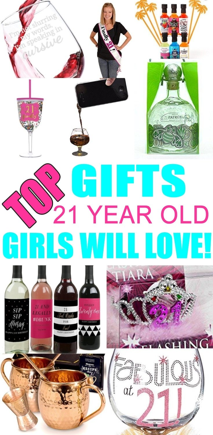 10 Lovable Gift Ideas For 21 Year Old best gifts for 21 year old girls 21st gifts gift suggestions and 2021
