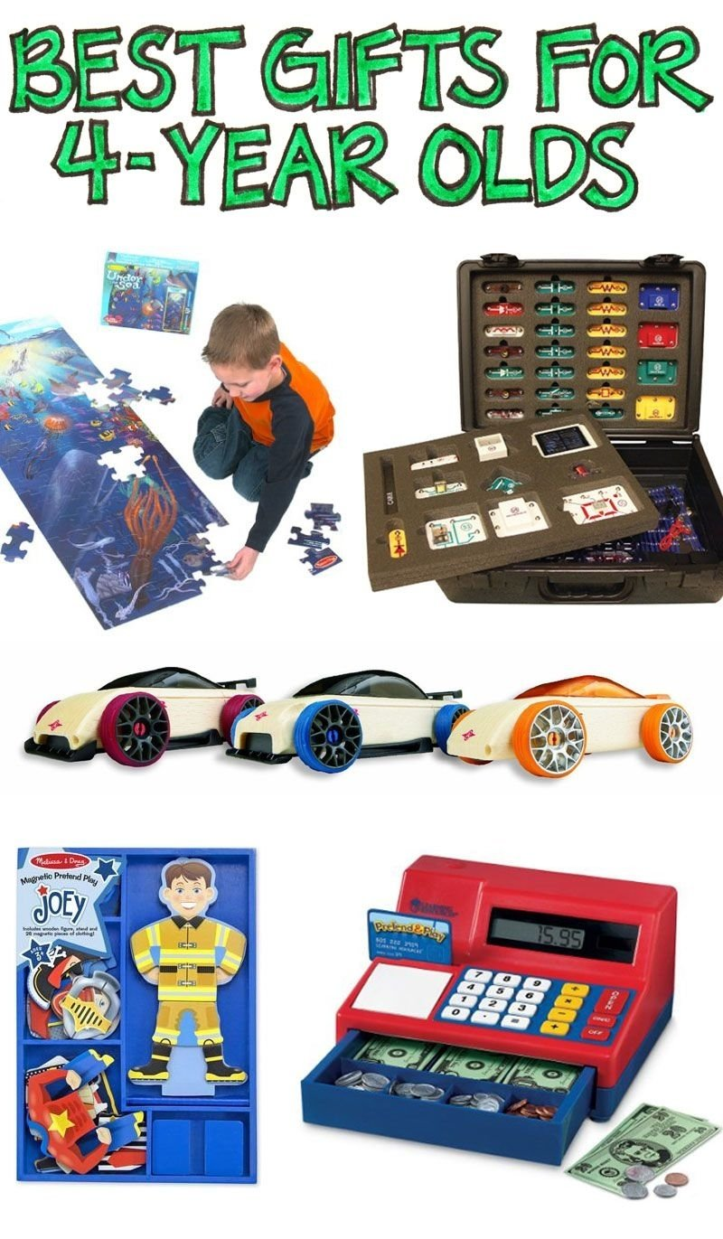 10 Perfect 4 Year Old Boy Birthday Gift Ideas Best Gifts For Olds