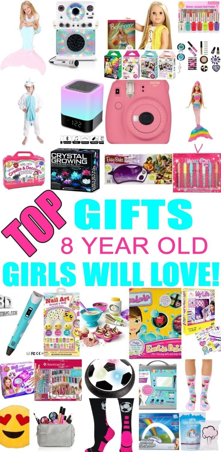 10 Fashionable Gift Ideas For 8 Year Girl best gifts for 8 year old girls gift suggestions girl gifts and tween 1 2020