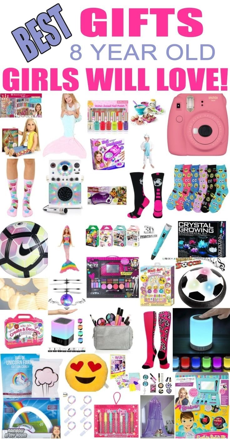 10 Fashionable Gift Ideas For 8 Year Girl best gifts for 8 year old girls girl gifts tween and birthdays 2 2020
