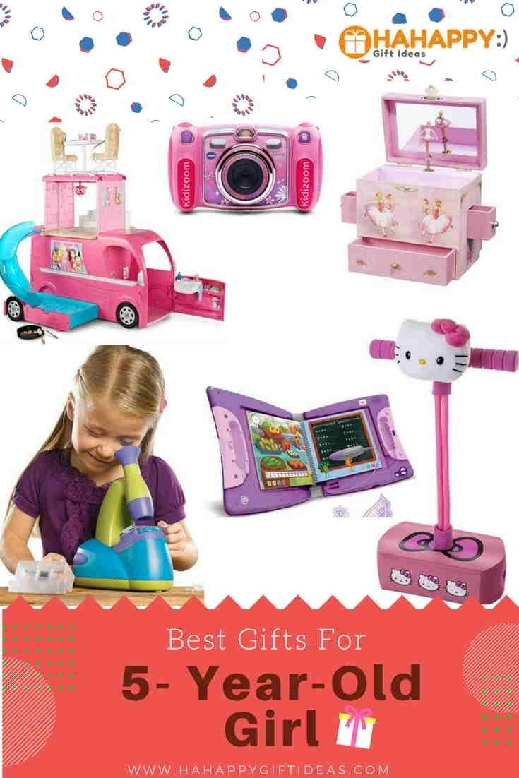 best gifts for a 5-year-old girl - creative & fun | hahappy gift ideas