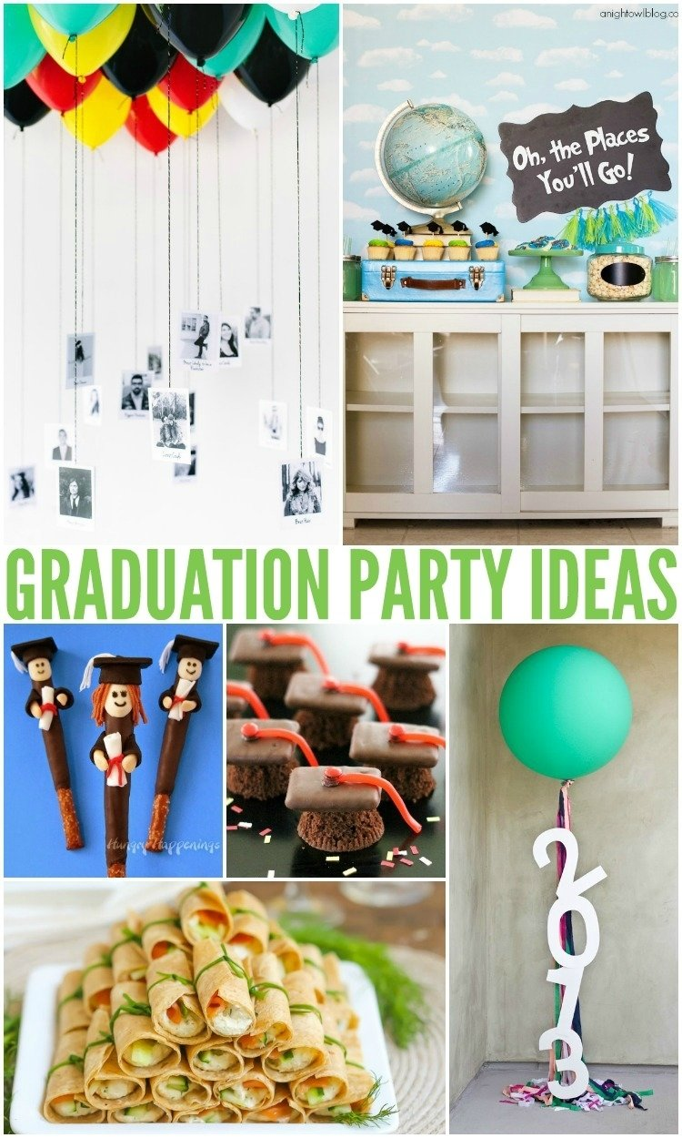 10 Trendy Ideas For A Graduation Party best graduation party ideas and recipes an alli event