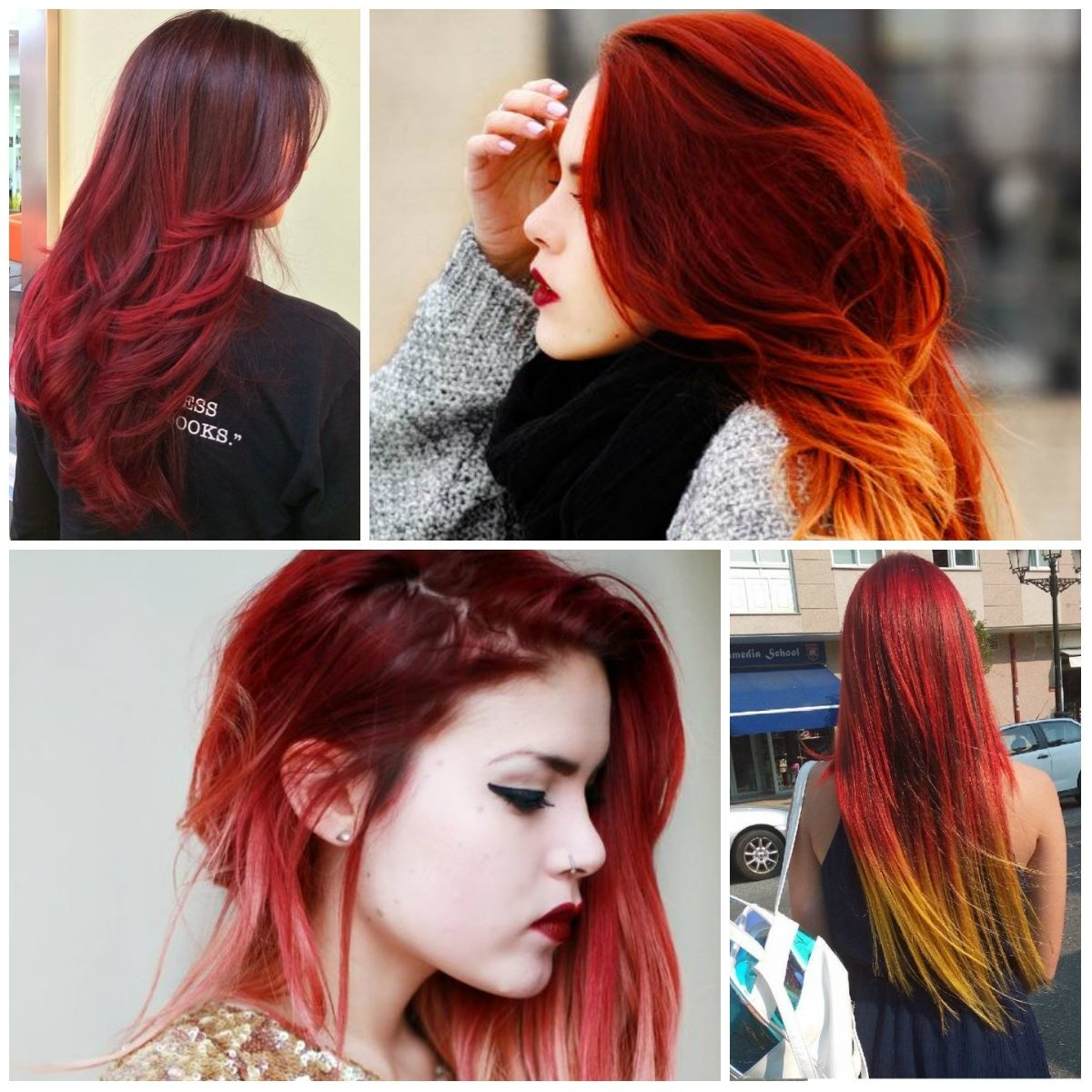 10 Ideal Hair Color Ideas For Redheads best hair color trends 2017 top hair color ideas for you page 2 2020