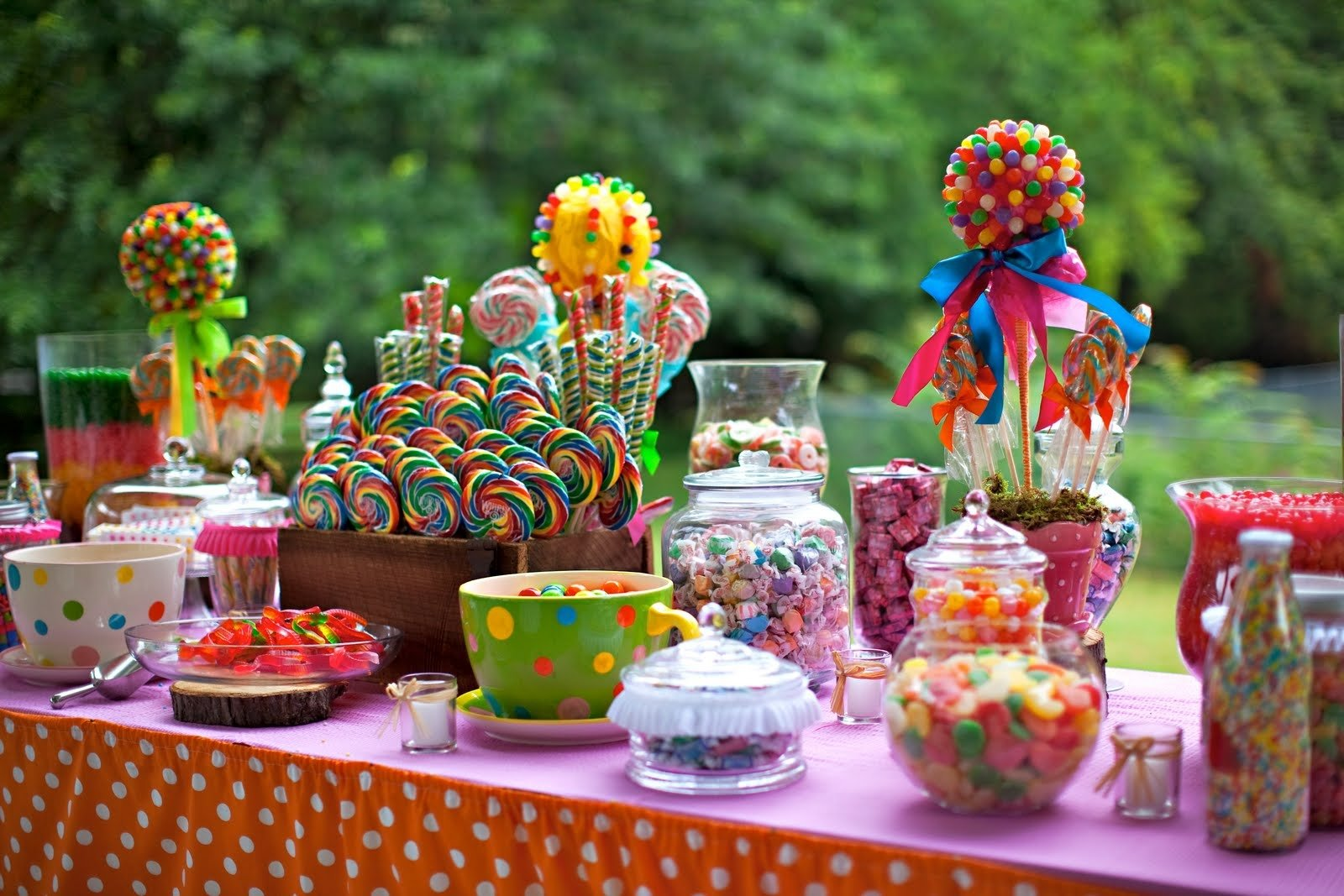 10 Famous Candy Themed Birthday Party Ideas best ideas candyland decorations interior and furnitures 5th 2020