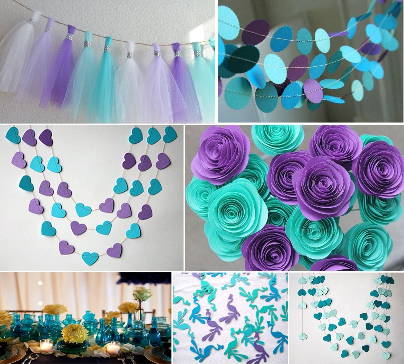 10 Pretty Teal And Purple Wedding Ideas best ideas for purple and teal wedding wedding decorations uk 2020